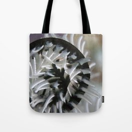 Feather star swirl Tote Bag