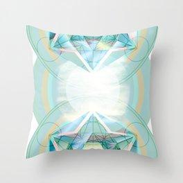 Sacred Circles Throw Pillow