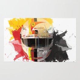 Sebastian Vettel #5 - 2017 Rug