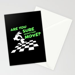 Are You Sure About That Move? | Chess Stationery Cards