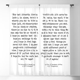 It's Never Too Late Benjamin Button Blackout Curtain