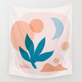 Abstraction_Nature_Companion_001 Wall Tapestry