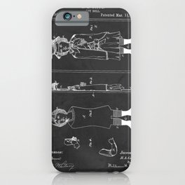 Toy Doll Patent 1884 iPhone Case