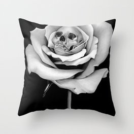 Beauty & Death Throw Pillow