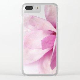 Floraison 1 Clear iPhone Case