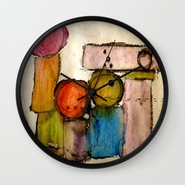 Megalithic Grave Wall Clock