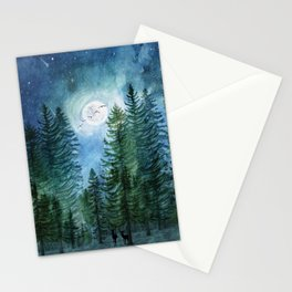 Silent Forest Stationery Cards
