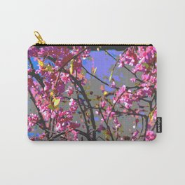 Polarized floral Carry-All Pouch