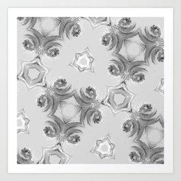 fractals swirls Art Print