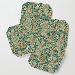 The Forest  William Morris Coaster