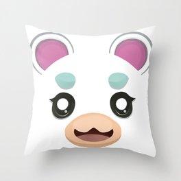 Animal Crossing Flurry Throw Pillow