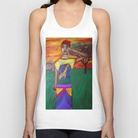 africa Tank Tops featuring Africa by Ksuhappy