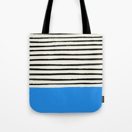 Ocean x Stripes Tote Bag
