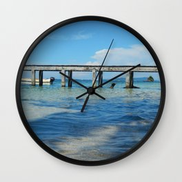 Cayo Zapatilla Wall Clock