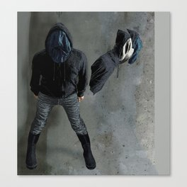 String Theory: Collapsing Wavefunction, Sixth Tangible Canvas Print