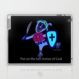© Litte Monkey wears Full Armor of God Laptop & iPad Skin
