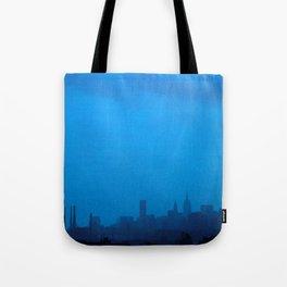 Blue City Tote Bag