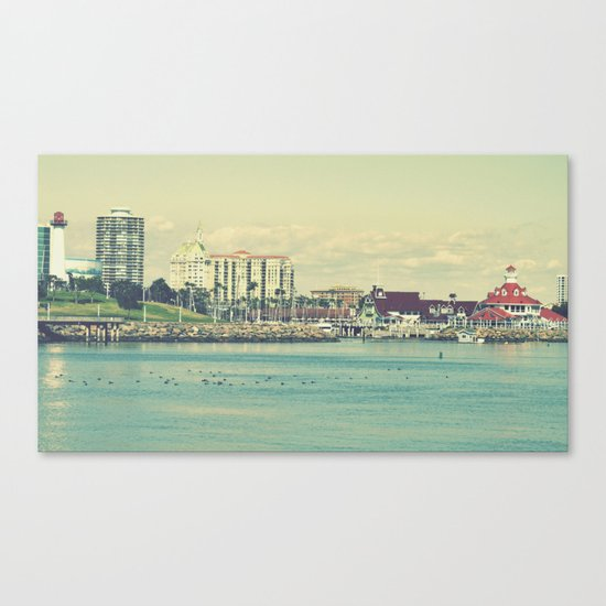 Seaside ~ Long Beach ~ California Canvas Print