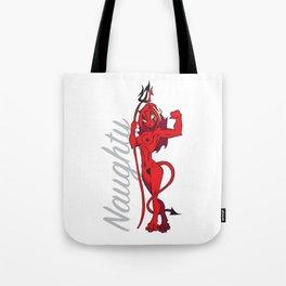 Naughty Devil Tote Bag