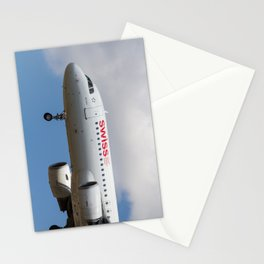 Swiss Airlines Airbus A320 Stationery Cards