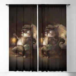 Little Squirrel Blackout Curtain