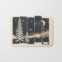 A Starry Night in the Mountains... Bath Mat