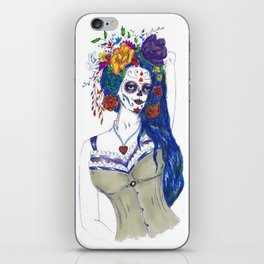 Scull Candy Lady iPhone Skin