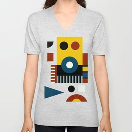 SPEECH AT THE BAUHAUS Unisex V-Neck