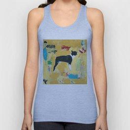 Boston Terrier Painting Art Unisex Tank Top