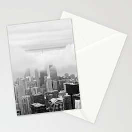 Black and White Chicago Illinois Stationery Cards