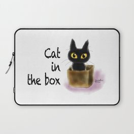 Cat in the box Laptop Sleeve
