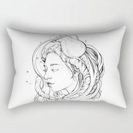 Zodiac: Aquarius Rectangular Pillow