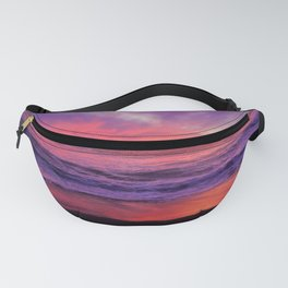 Pinky Purple Sky of Hope by Reay of Light Fanny Pack