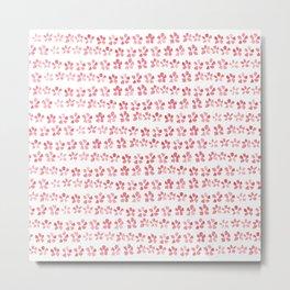Floral Pink Metal Print
