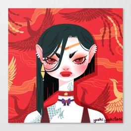 Bitch Please: Sailor Mars Canvas Print