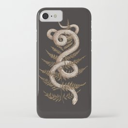 The Snake and Fern iPhone Case
