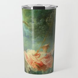 The Swing by Jean-Honoré Fragonard Travel Mug