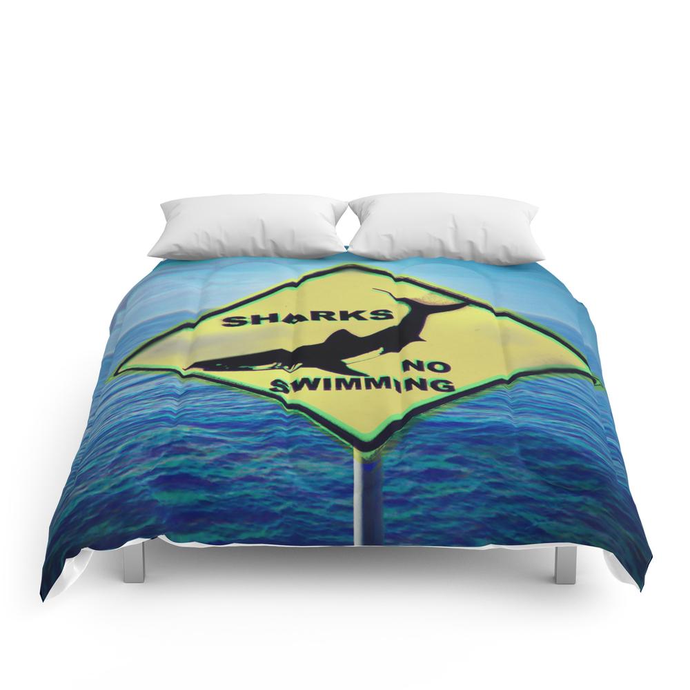 Shark,no_Swim_Comforter