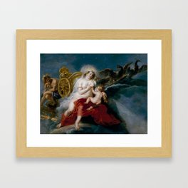 The Birth of the Milky Way Framed Art Print