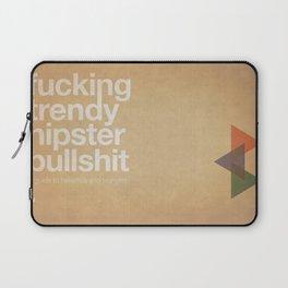 hipster bullshit Laptop Sleeve