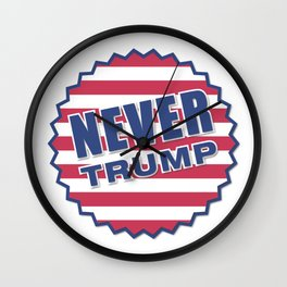Never Trump (2) Wall Clock