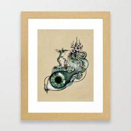 Flowing Inspiration Framed Art Print