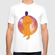 Lost in Space Mens Fitted Tee White SMALL