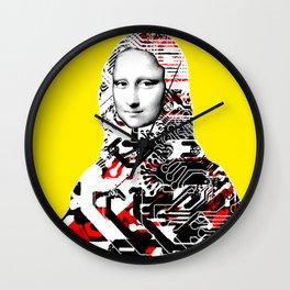 Mona Lisa Platina 2 Wall Clock