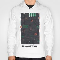 audi Hoodies featuring AFK by Hector Mansilla