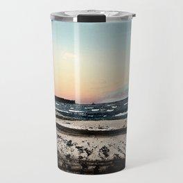 SunSet At My Beach Travel Mug