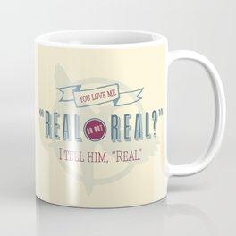 Read or Not Real Coffee Mug