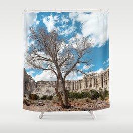 plaza blanca Shower Curtain