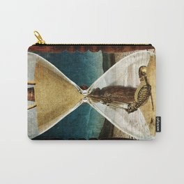 Sands of Time ... Memento Mori Carry-All Pouch
