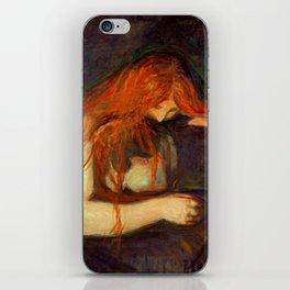 Edvard Munch, Vampire iPhone Skin